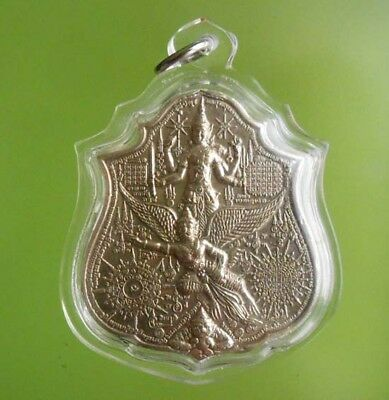 Perfect! Old Amulet Lp Karhong Very Rare From Siam !!!