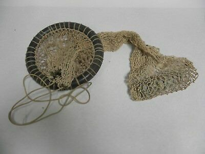 Vintage Floating Fishing Bait Net Basket Container Fish Holder (A5)