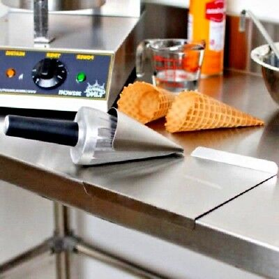 Commercial Grade Waffle Cone Maker Forming  Rolling Tool  Roller Mold Ice Cream