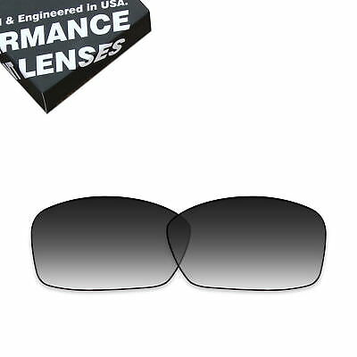 77e468a9997 T.A.N Grey Gradient Polarized Replacement Lens for-Oakley Hijinx Sunglass  03-591