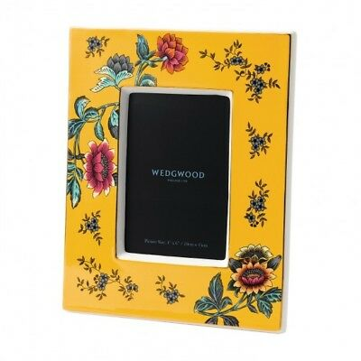 Wedgwood Wonderlust Yellow Tonquin 4x6in Picture Frame