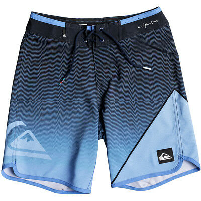 Quiksilver Highline New Wave Kids Boys Boad Shorts - Atomic Blue