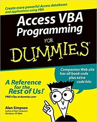 Access VBA Programming For Dummies, Read on PC/Phone/Tablet