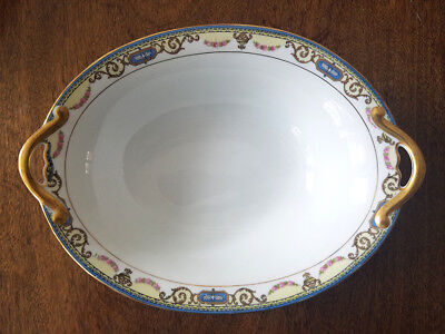 "NORITAKE, China, ""SYLVANIA,"" 10 inch Oval Vegetable Serving Dish"