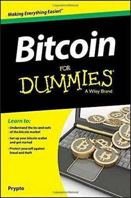 Bitcoin For Dummies by Prypto 2016  PDF Read on PC/SmartPhone/Tablet