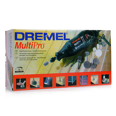 Dremel MultiPro 110V/220V Power Rotary Tool Grinder Mini Drill Set 5PC Accessory