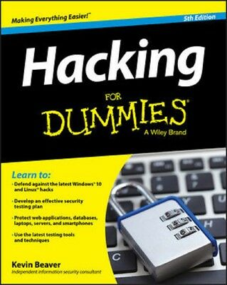Hacking For Dummies 2015  Read on PC/Phone/Tablet