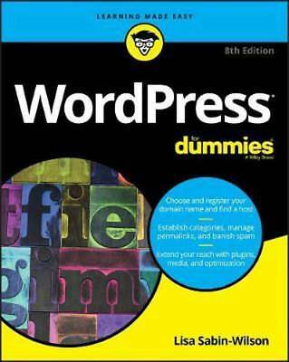 WordPress For Dummies, 8th Edition 2017  Read on PC/Phone/Tablet
