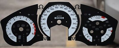 Gauge Overlay/ Faceplate  For  2010 Cadillac -Srs  Km/ H