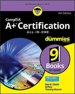 Comptia A+ (R) Certification All-In-One for Dummies (R), 4th Edition, Read on PC