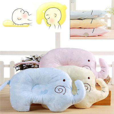 Baby Infant Pillow Newborn Anti Flat Head Syndrome for Crib Cot Bed Support
