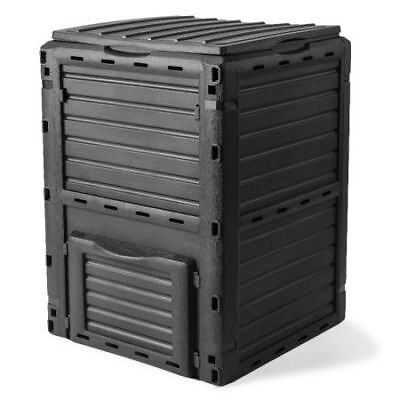 Tools Furniture 290L Recycling Composter Aerated Compost Bin - Grey