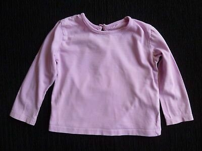 Baby clothes GIRL 12-18m Cherokee soft, mauve, long sleeve t-shirt/top SEE SHOP!