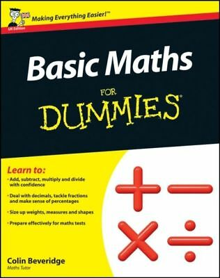 Basic Maths For Dummies (UK Edition)  PDF Read on PC/SmartPhone/Tablet