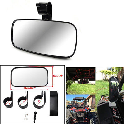 Center Mirror Universal UTV Off Road Large Adjustrable Wide Rear Clear View