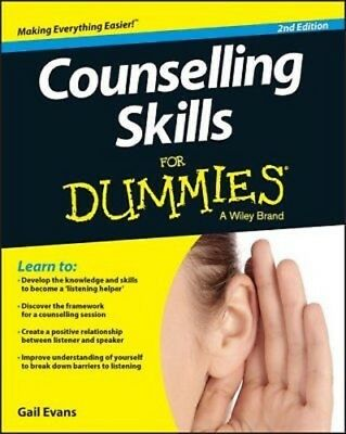 Counselling Skills For Dummies by Gail Evans PDF Read on PC/SmartPhone/Tablet