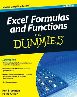 Excel Formulas and Functions For Dummies Read on PC/Phone/Tablet