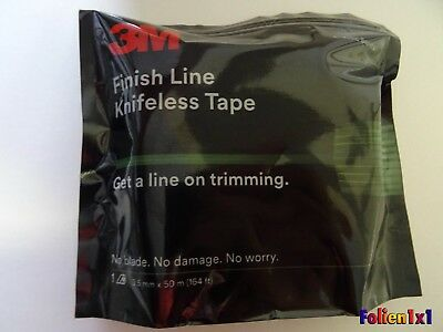 0,72€/m 50mx3mm 3M Knifeless Tape Finish Line Wrap Folien schneiden ohne Messer