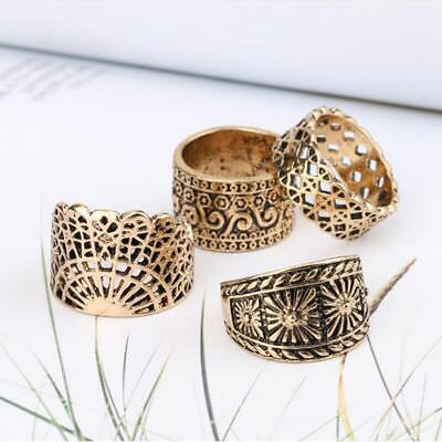 Ring Set Ancient For Wedding/Party Ring Ring Set Women Jewelry Finger Ring