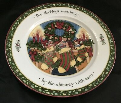 SUSAN WINGET A CHRISTMAS STORY Series 3 - 4 Dinner Plates ...