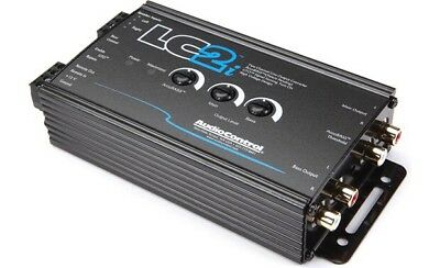 AudioControl LC2i / 2 Channel Line-Output Converter w/ AccuBASS (BLACK) **NEW**