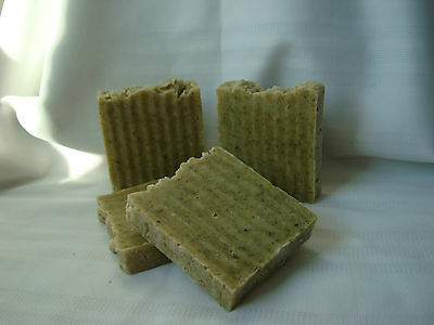 Handmade Natural Neem Tea Tree Organic Neem Leaves & Green Tea Soap