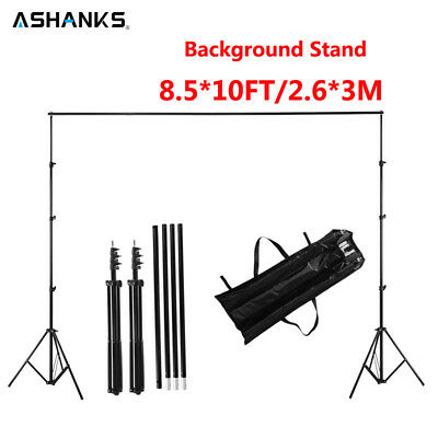 ASHANKS 2.6M X 3M/8.5*10ft Pro Photography Photo Backdrops Background Support Sy