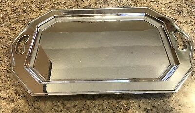 W.R Silver Plated Medium Size Butlers Tray