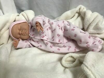 Gorgeous Sleeping Baby Vintage Berjusa Doll