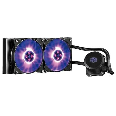 Cooler Master MasterLiquid ML240L RGB 240mm Quiet Liquid CPU Cooler Heatsink Fan