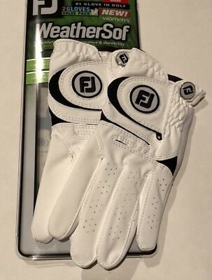 Women's FootJoy WeatherSof 2-Pack Gloves,Value Pack, Select Size, FREE SHIPPING