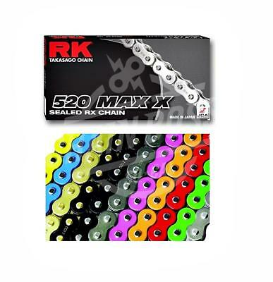 RK Chains 520 x 114 Links MAX X Series Xring Sealed Gold Drive Chain