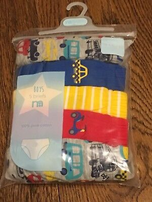 Mothercare Boys Briefs Beep Beep Design 1.5-2 Yrs Bnwt