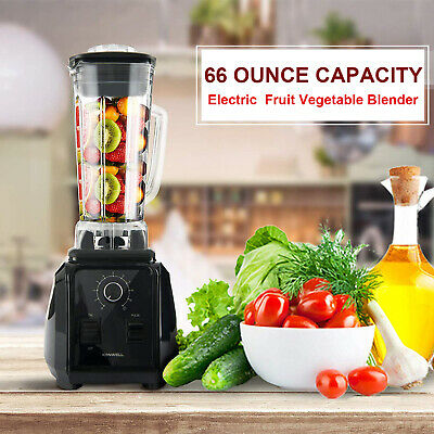 Commerical High-Speed Blender Mixer Juicer Food Smoothies 1500W Power