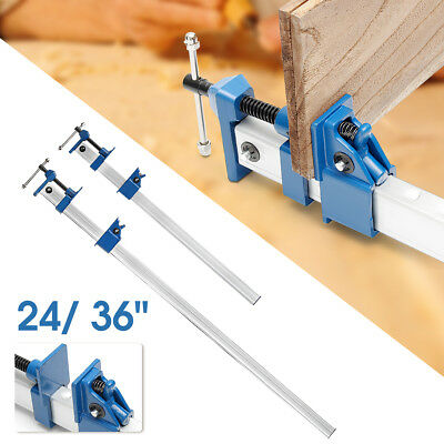 """24""""/ 36'' Quick Release F-Clamp Bar Clamp Woodworking Quick Slide Wood Clamping"""