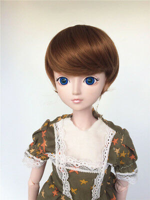 "New 1//3 Girl BJD SD Doll Wig Dollfie 8-9/"" DZ DOD LUTS High Temperature Wire Hair"