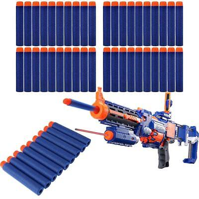 400Pcs Gun Soft Refill Bullets Darts Round Head Blasters For Nerf N-Strike Toy