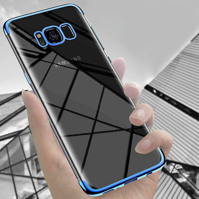For Samsung Galaxy S8 S9 Plus Note 9 Ultra-thin Clear Soft TPU Gel Case Cover
