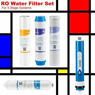 5 Stage Water Refill Filter Set Fit Express Water RO5DX Window Cleaning Cooking