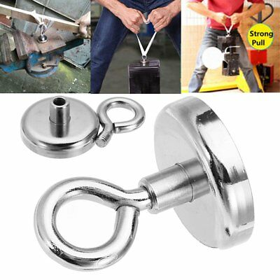Neodymium Recovery Magnet Metal Detector Claw Hook Strong Magnetic NF16mm~NF75mm