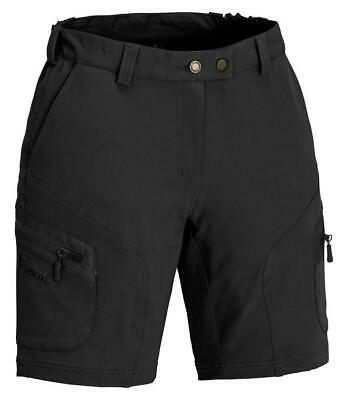 Pinewood 9346 Wildmark Stretch Damen Shorts schwarz kurze Hose Sommer