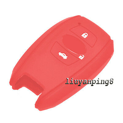 Silicone Fob Smart Key Case Cover for Subaru BRZ IMPREZA LEGACY OUTBACK FORESTER