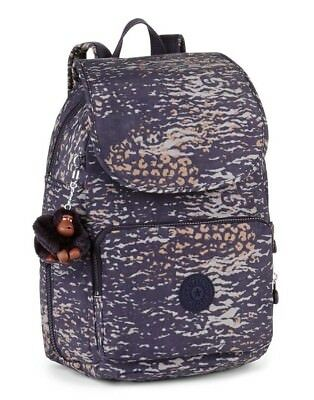 aea548f1c2 KIPLING CAYENNE Small Backpack WARM GREY (Beige) RRP £89 - £70.50 ...