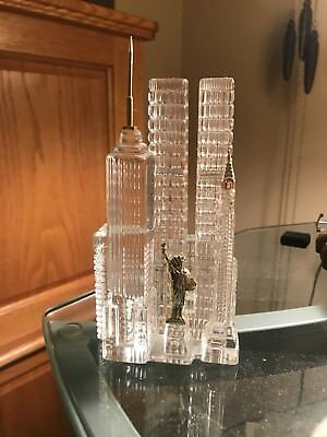 Hofbauer Crystal New York Skyline.