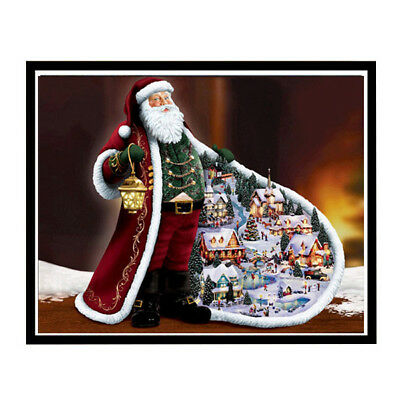 Diamond Painting Kit 5D Diamond Embroidery Christmas Santa Claus Full Rhinestone