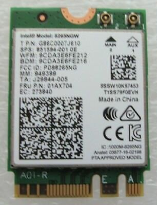 Original Lenovo Intel ThinkPad E570 01AX704 Dual Band Wifi Card
