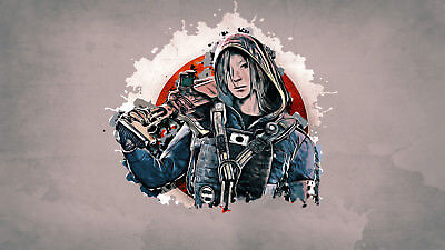 Tom Clancys The Division Game Poster Print T804 A4 A3 A2 A1 A0|