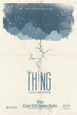 The Thing Classic Horror Movie Poster Print T390 |A4 A3 A2 A1 A0|
