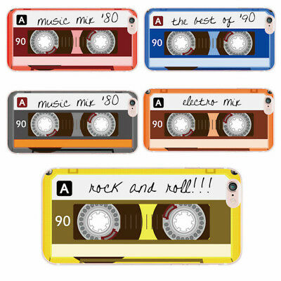 Retro cassette tape soft case cover for iPhone 5 6 7 8 Plus X Samsung S8 S9 A8