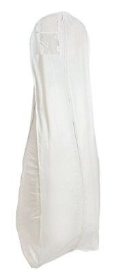 White Breathable Wedding Bridal Dress Garment Bag 600GBB